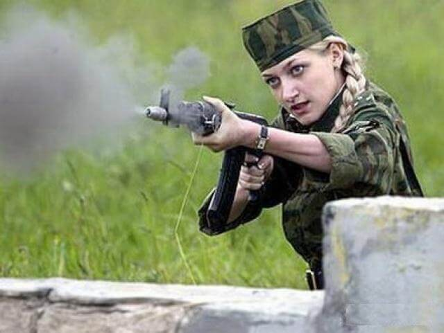 Russian Woman Visits Her Soldier 68